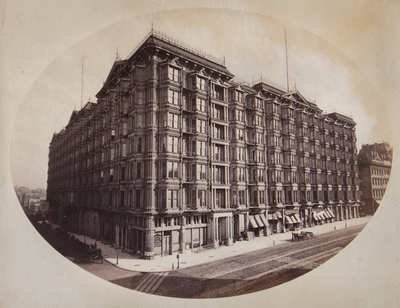 Photographer unknown, Palace Hotel, San Francisco, ca. 1870, Albumen. $350.